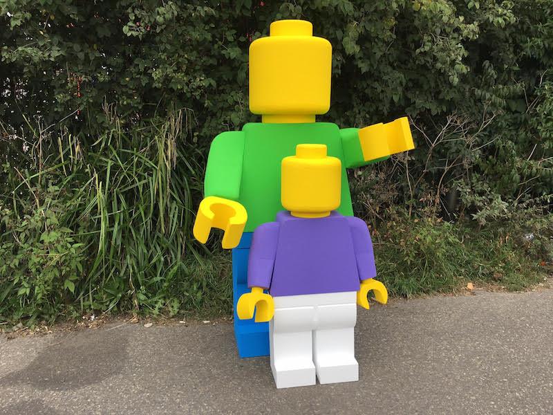Lego poppen